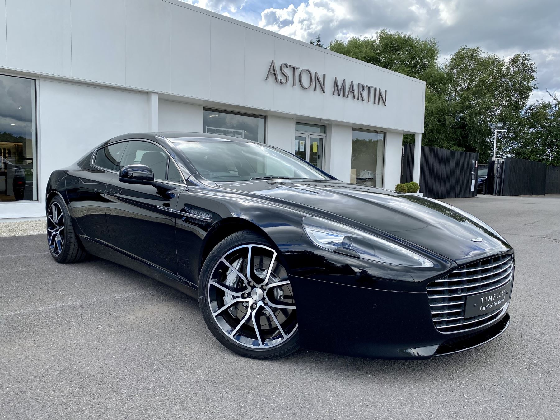 Aston Martin Rapide S V12 [552] 4dr Touchtronic III 8 Spd, Onyx Black And Obsidian Black Leather, Rear Seat Entertainment. image 1
