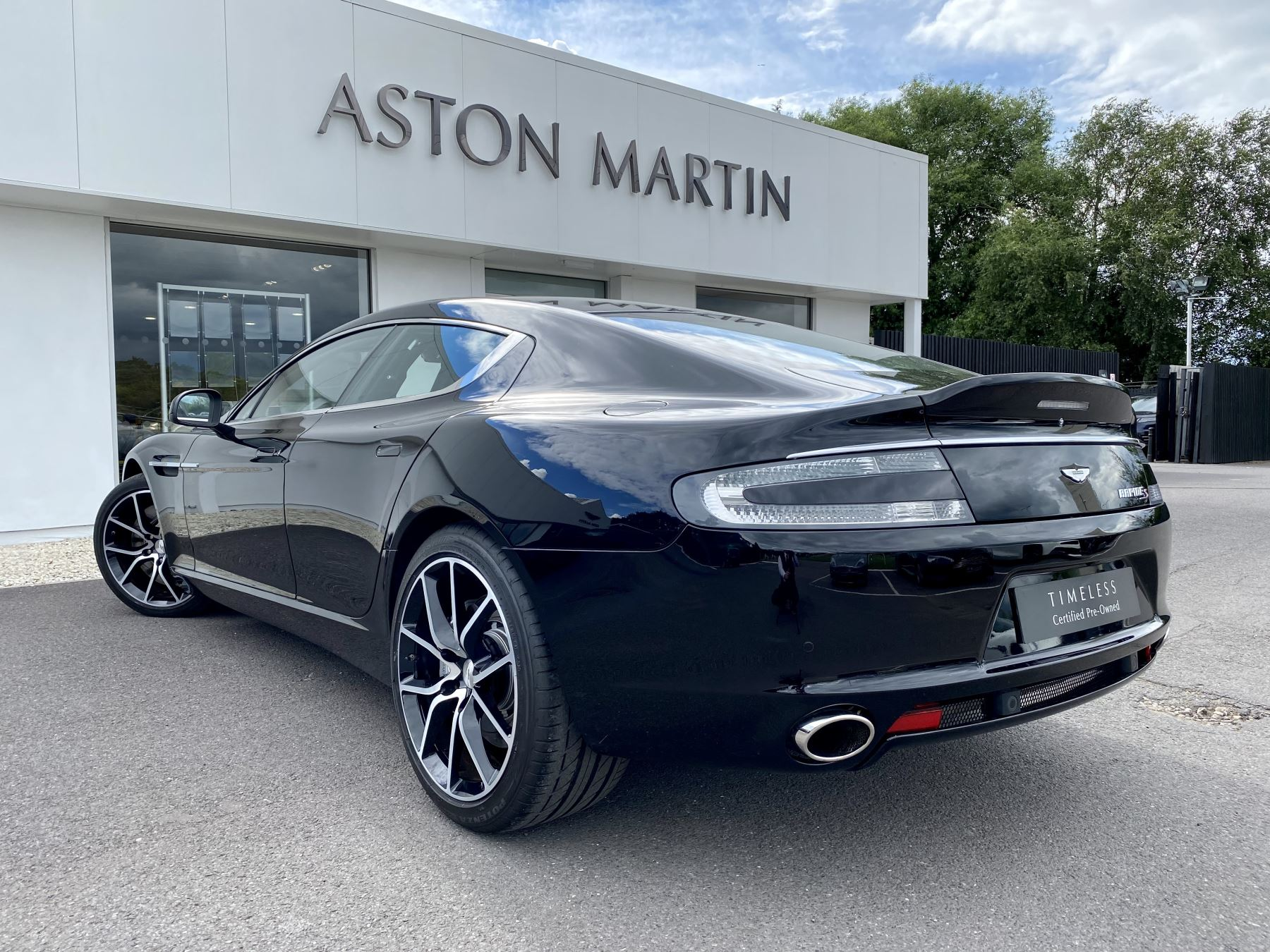 Aston Martin Rapide S V12 [552] 4dr Touchtronic III 8 Spd, Onyx Black And Obsidian Black Leather, Rear Seat Entertainment. image 5