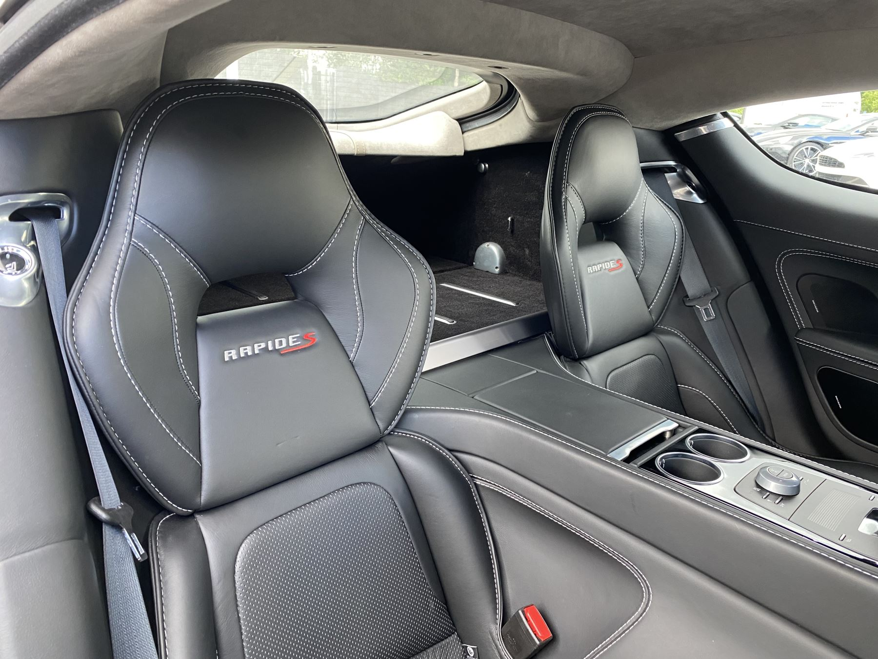 Aston Martin Rapide S V12 [552] 4dr Touchtronic III 8 Spd, Onyx Black And Obsidian Black Leather, Rear Seat Entertainment. image 25