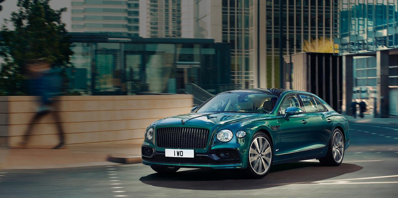 New Bentley Flying Spur Hybrid