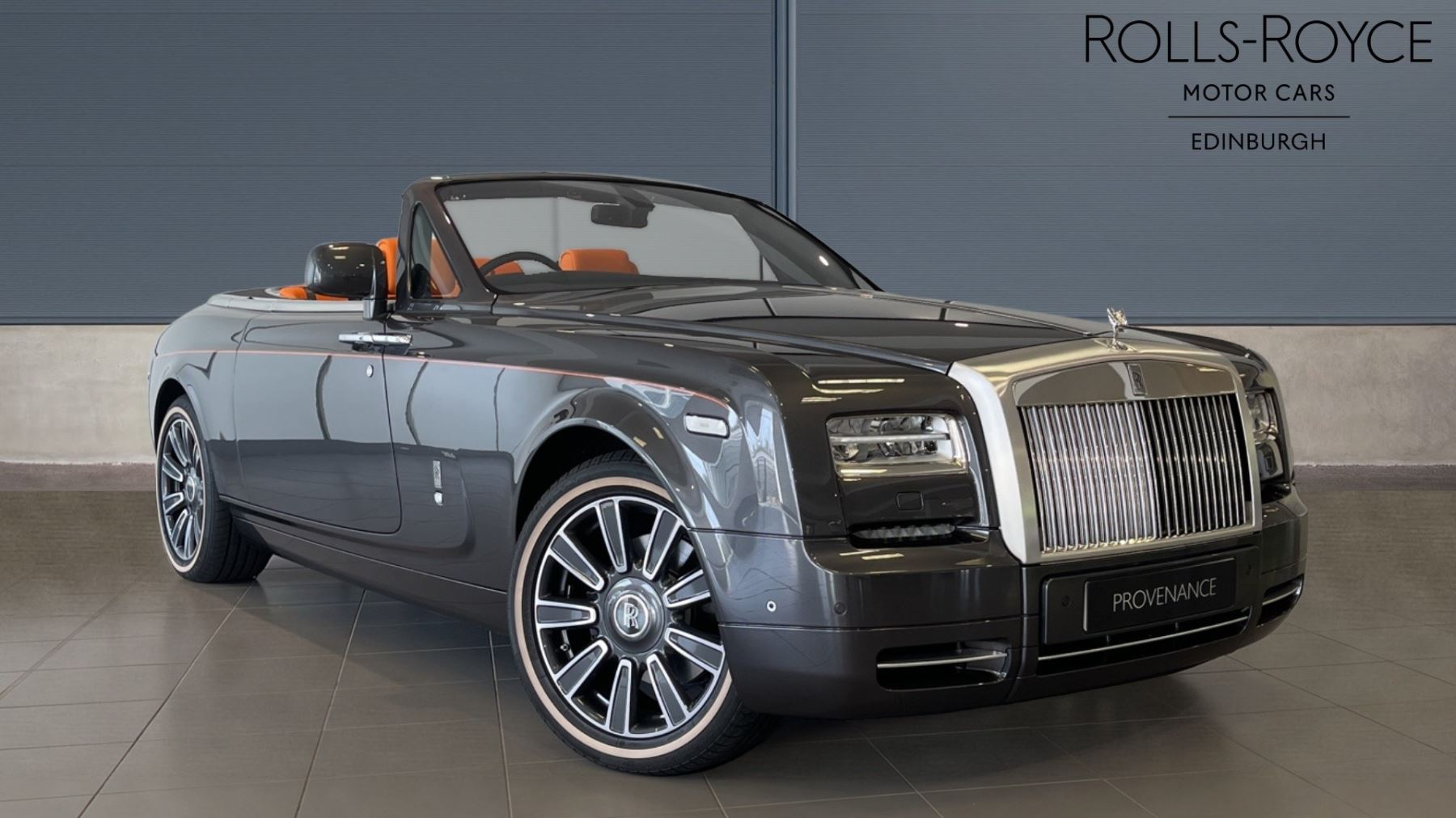 Rolls-Royce Phantom II 2dr Auto - 1 Owner - 850 Miles - 1 of 1  6.7 Automatic Convertible (2016) image