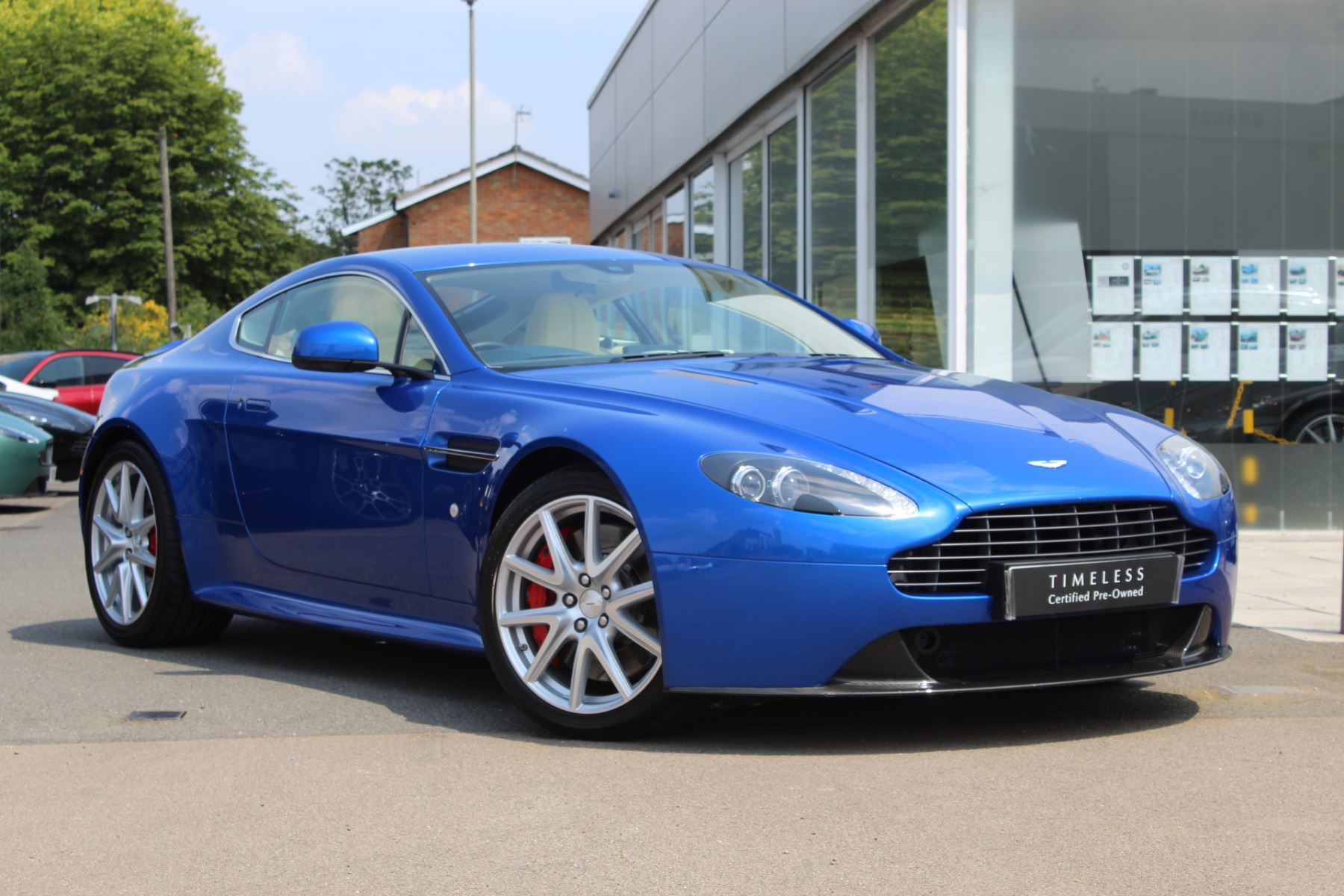 Aston Martin V8 Vantage S Coupe S 2dr    One Owner, rare Cobalt Blue with Cream Leather  4.7 3 door Coupe