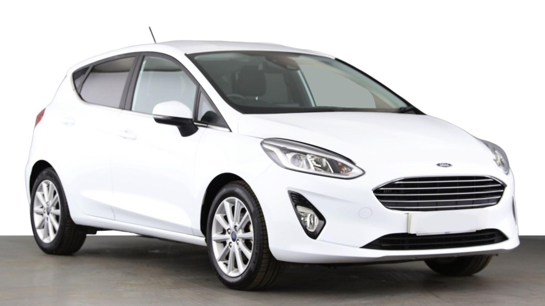 Ford Fiesta 1.0 EcoBoost Titanium 5dr, Sat Nav, Bluetooth, Hatchback (2018)