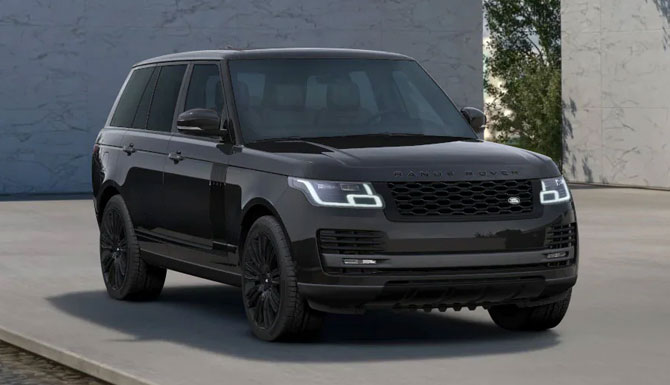 Range Rover 3.0 P400 Westminster Black Special Edition