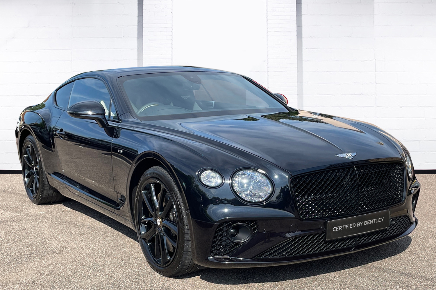 Bentley Continental GT 4.0 V8 - Mulliner Driving Specification with Black Painted Wheels Automatic 2 door Coupe