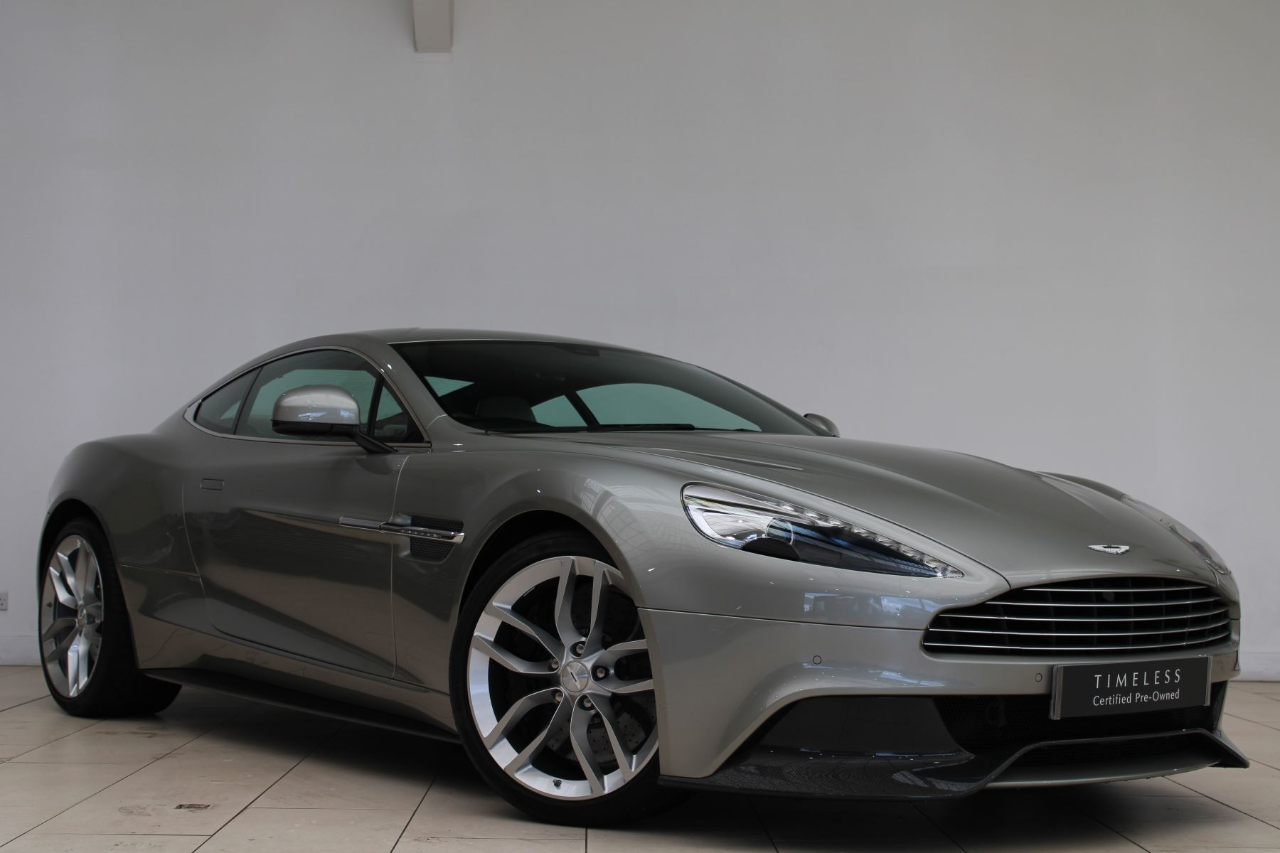 Aston Martin Vanquish V12 [568] Touchtronic3 One77 Silver Birch Full Leather Steering Wheel 5.9 Automatic 2 door Coupe