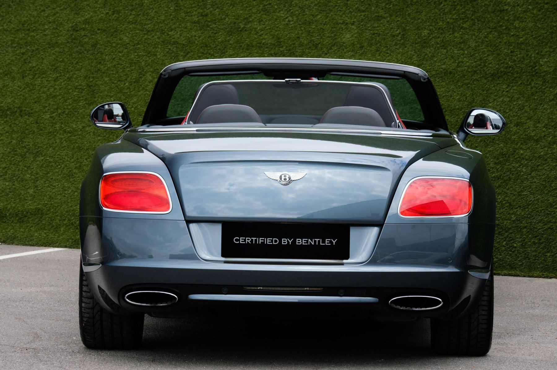Bentley Continental GTC 6.0 W12 Speed - Massage Seats & Ventilation - Neck Warmer - Rear View Camera image 4