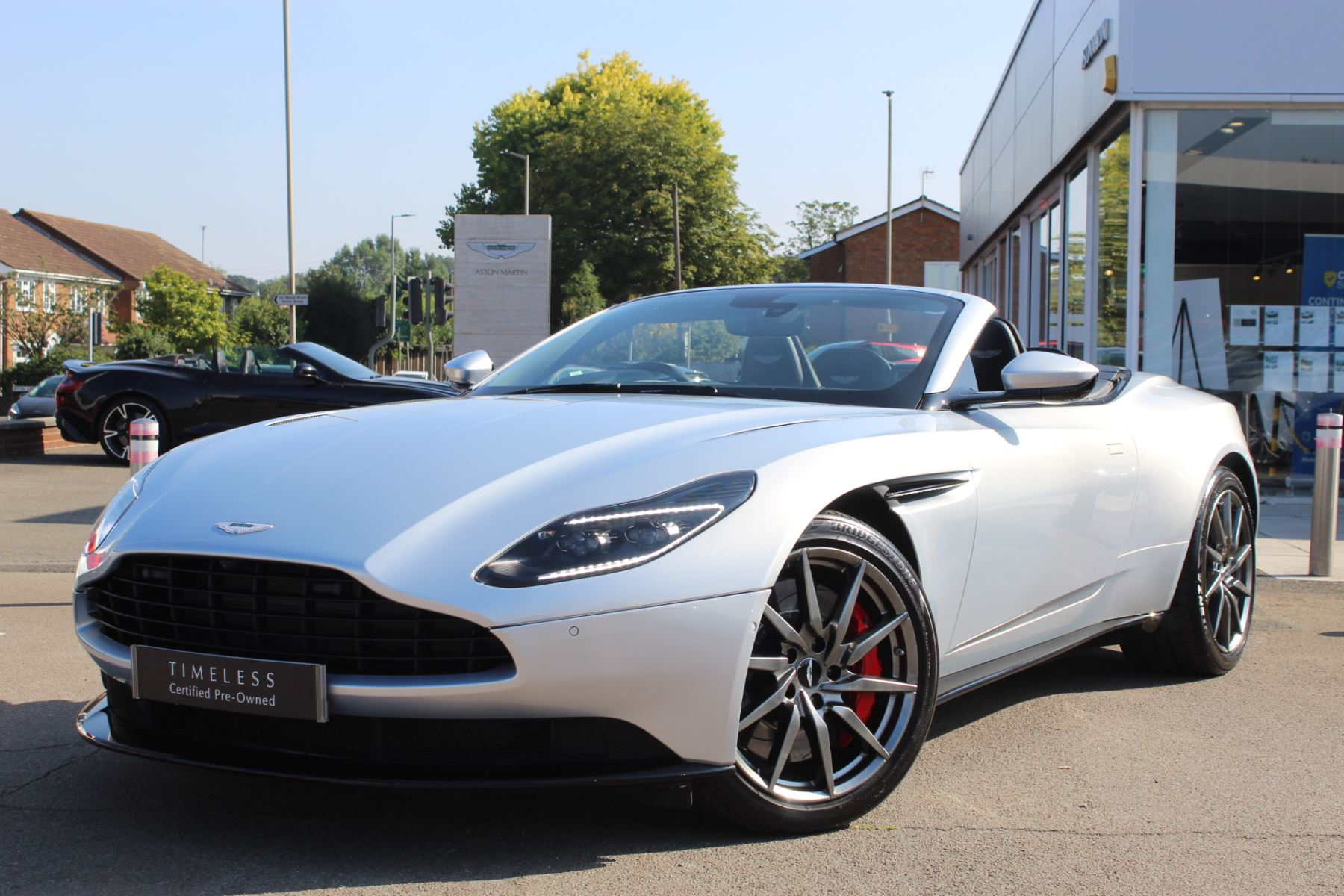 Aston Martin DB11 V8 Volante Touchtronic - Full Front End PPF Wrap 4.0 Automatic 2 door Convertible
