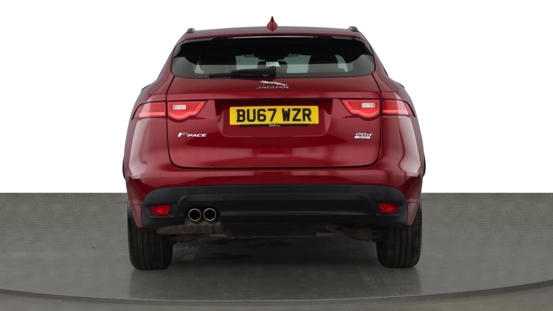 Jaguar F-PACE 2.0d R-Sport AWD - Sliding Panoramic Roof - Rear View Camera image 5