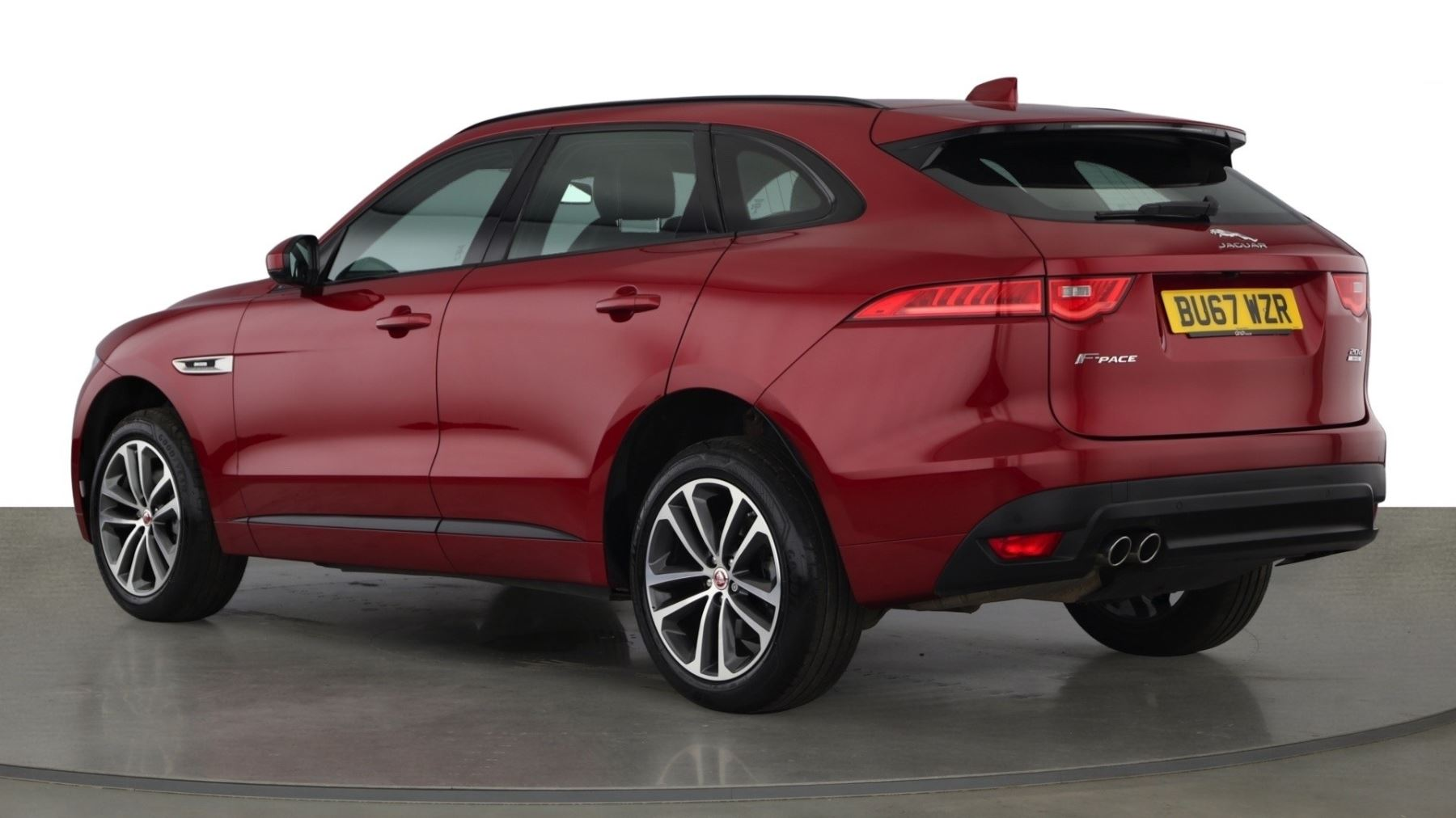 Jaguar F-PACE 2.0d R-Sport AWD - Sliding Panoramic Roof - Rear View Camera image 4