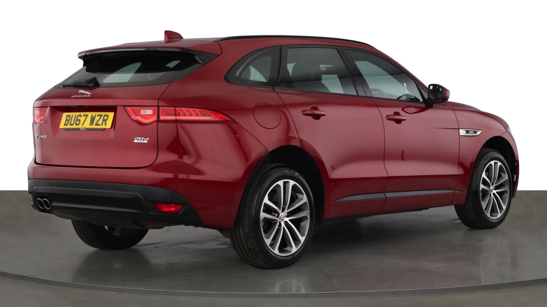 Jaguar F-PACE 2.0d R-Sport AWD - Sliding Panoramic Roof - Rear View Camera image 6