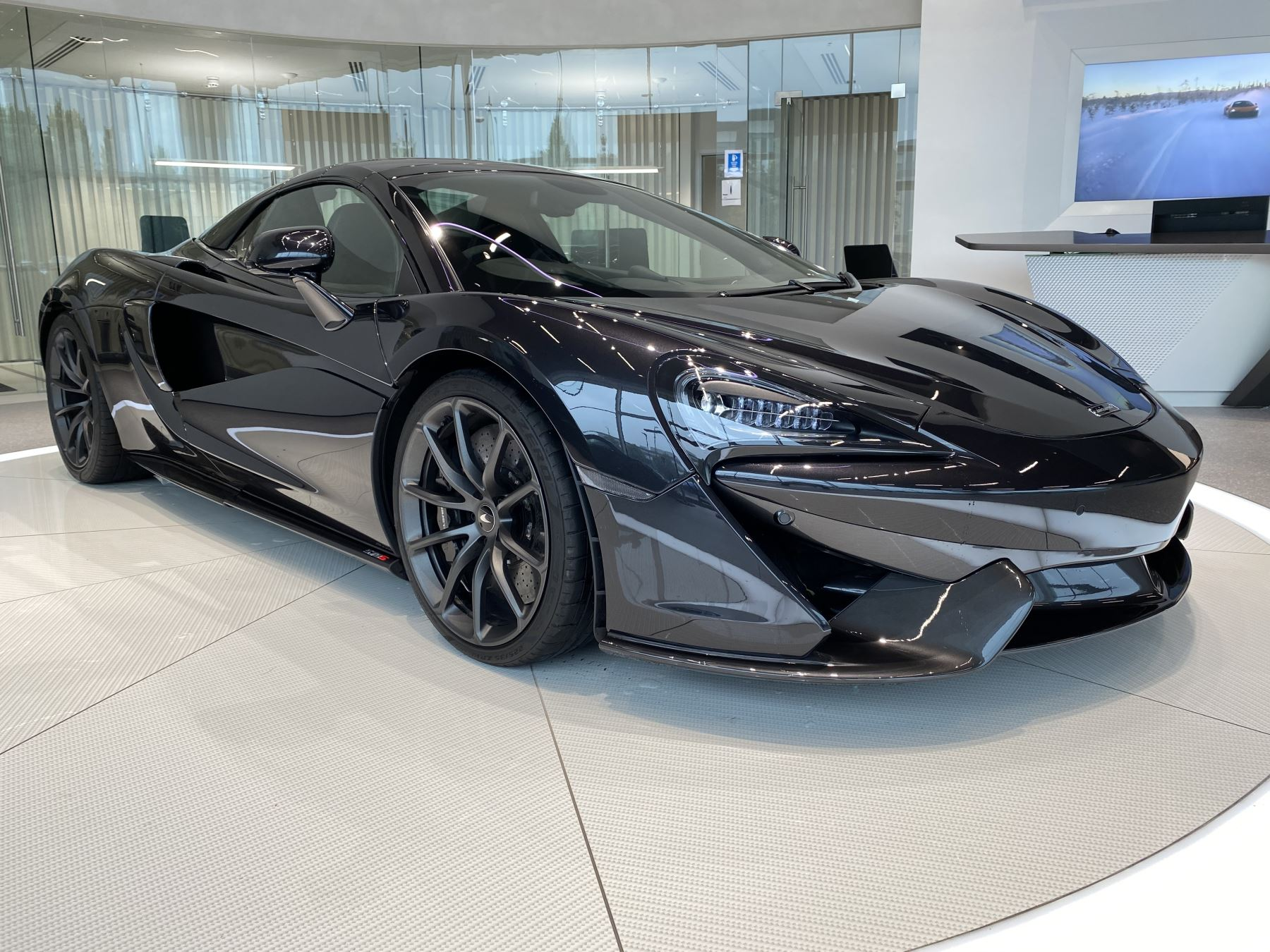 McLaren 570S Spider V8 2dr SSG ONE OF THE LAST REGISTERED MSO PAINT  3.8 Automatic Convertible