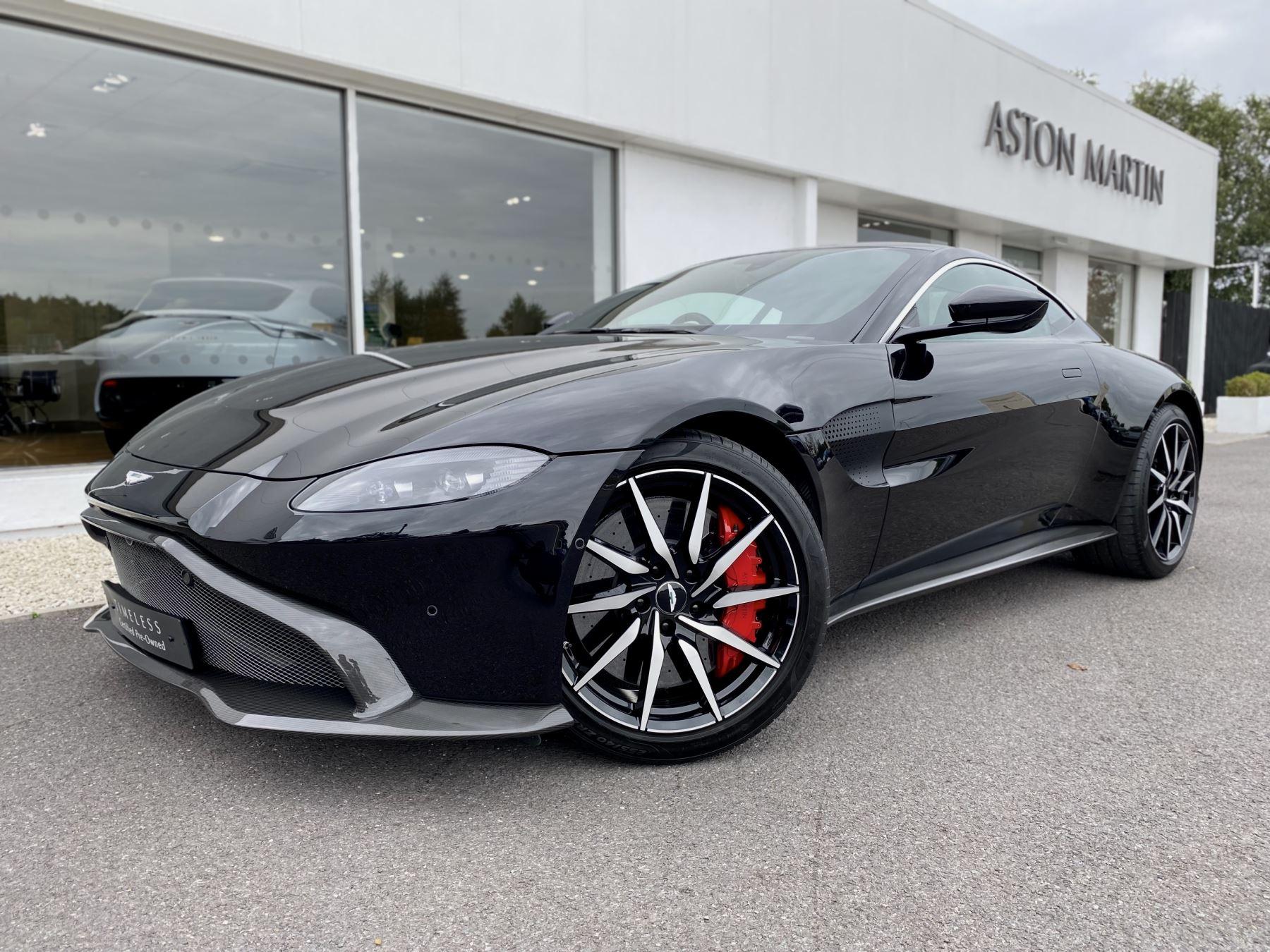 Aston Martin New Vantage 2dr ZF 8 Speed Auto. 4.0 Twin Turbo ZF Gearbox  Reversing Camera Heated Seats Ceramic Brakes image 3