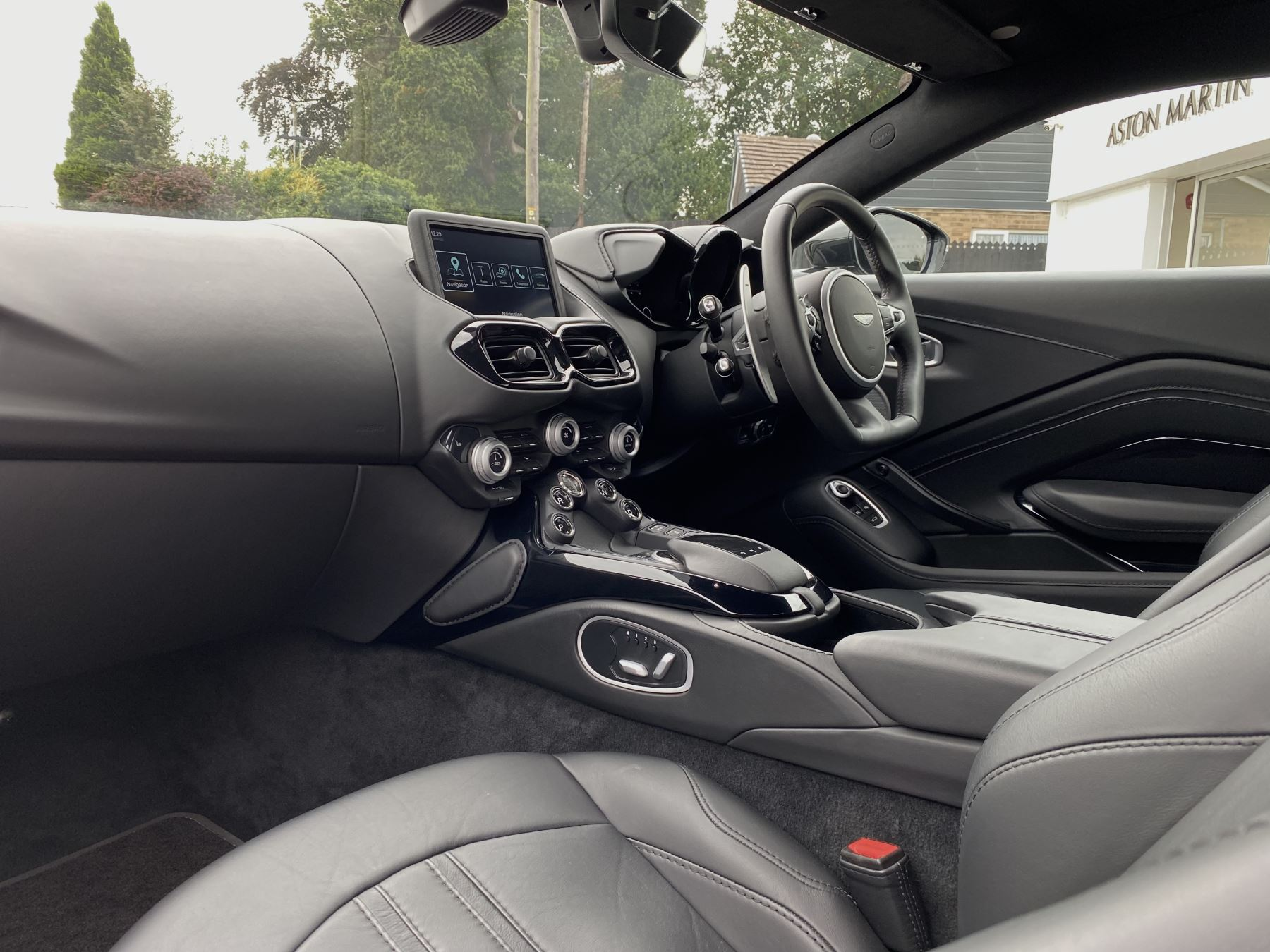 Aston Martin New Vantage 2dr ZF 8 Speed Auto. 4.0 Twin Turbo ZF Gearbox  Reversing Camera Heated Seats Ceramic Brakes image 24