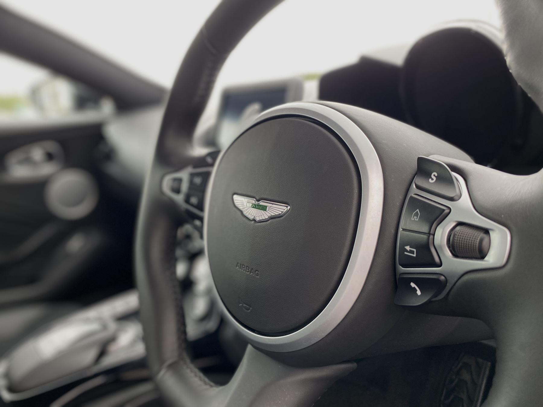 Aston Martin New Vantage 2dr ZF 8 Speed Auto. 4.0 Twin Turbo ZF Gearbox  Reversing Camera Heated Seats Ceramic Brakes image 38