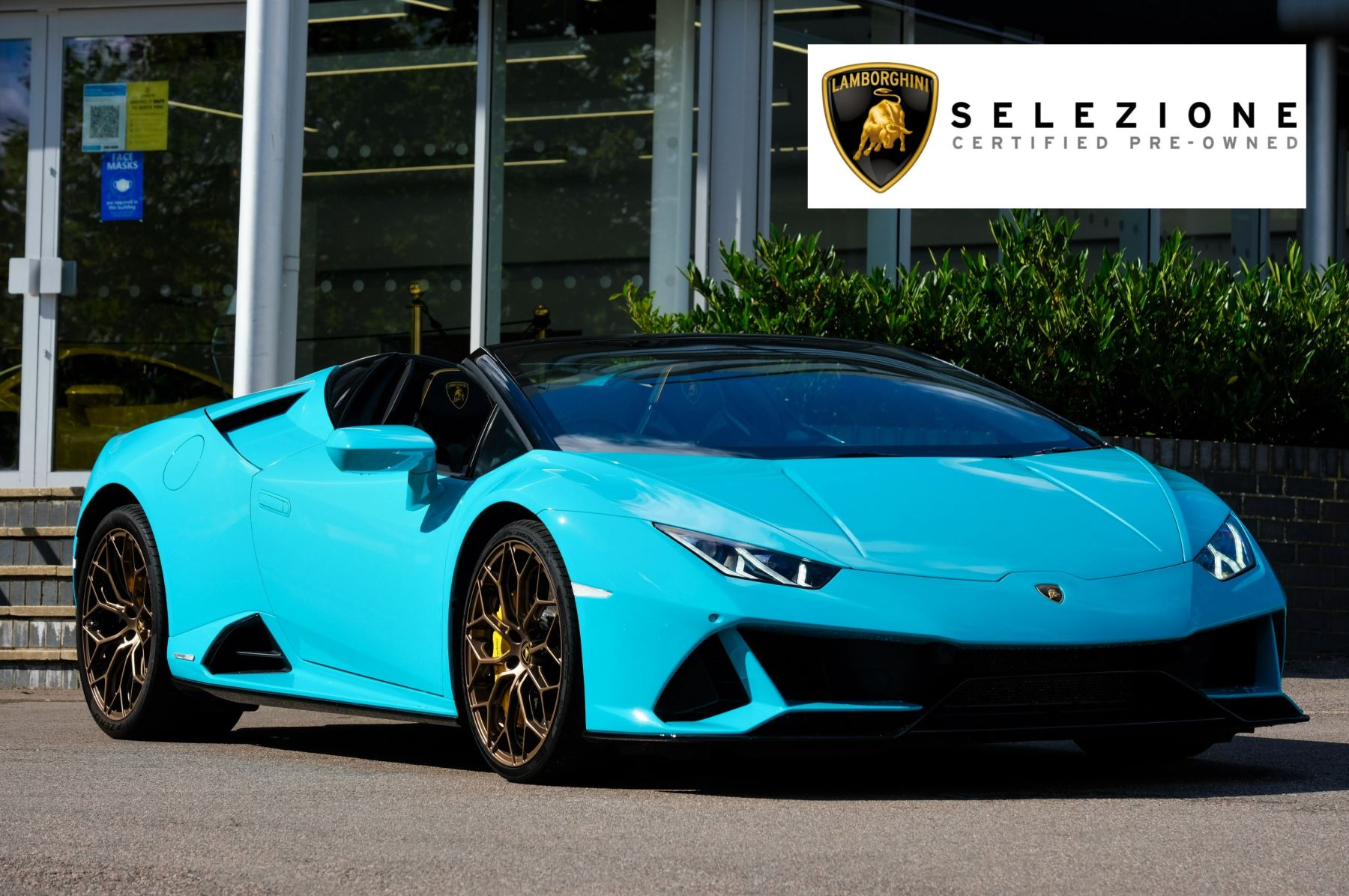 Lamborghini Huracan EVO Spyder EVO 5.2 V10 640 2dr Auto AWD Automatic Convertible (2021) image
