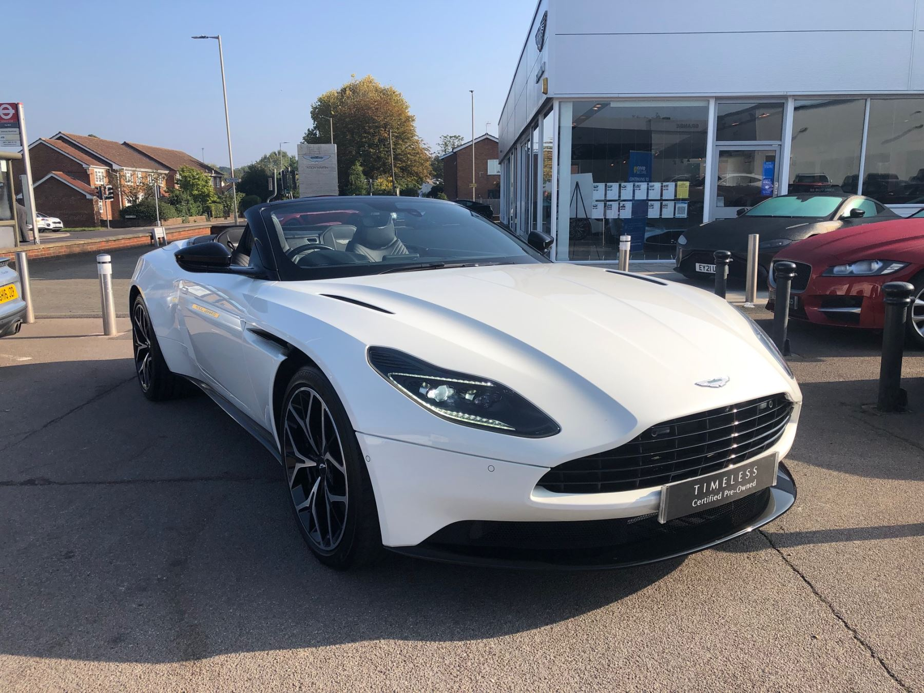 Aston Martin DB11 V8 Volante 2dr Touchtronic Balance of 5 Year Free Service Pack  4.0 Automatic Convertible