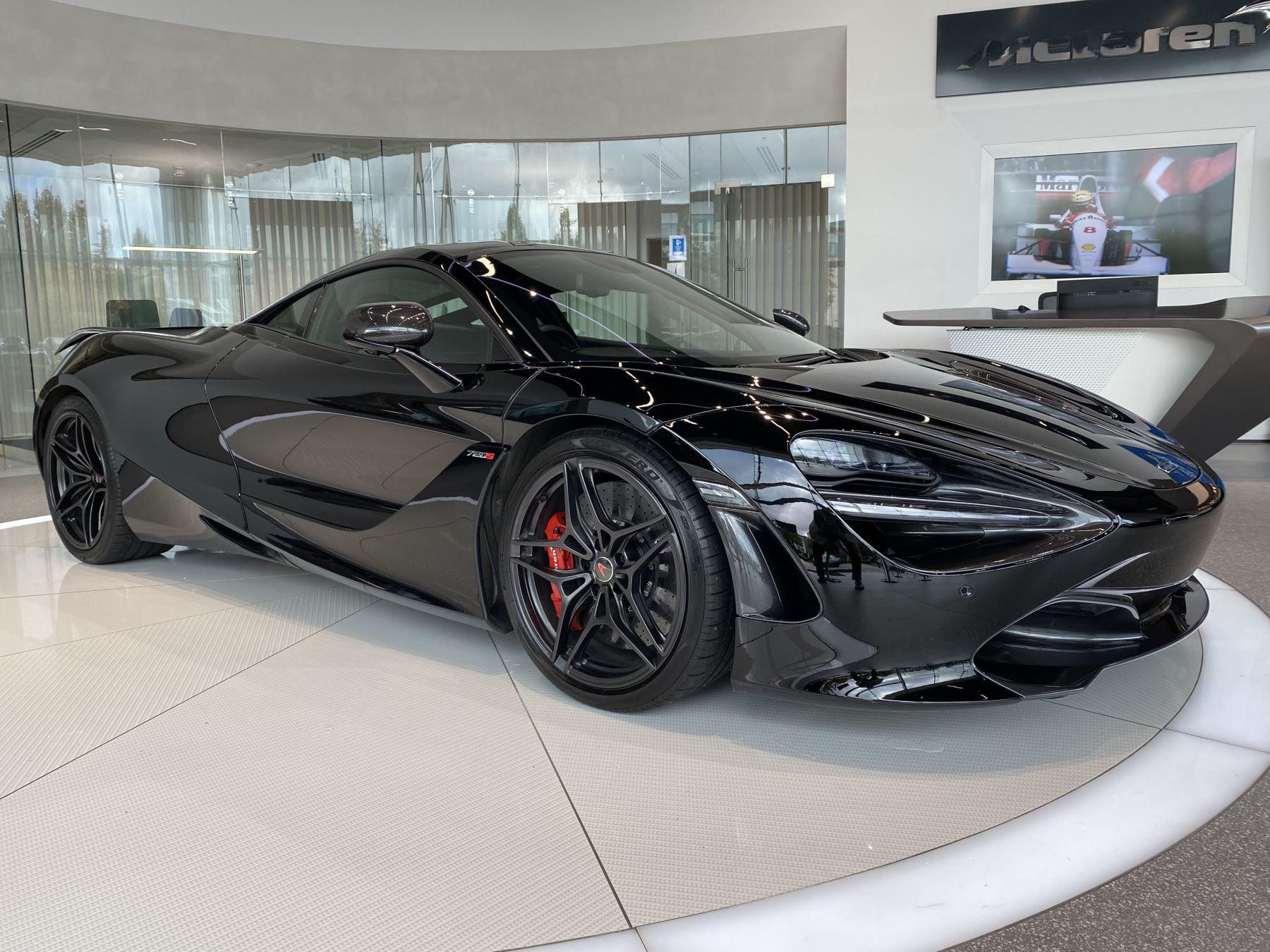 McLaren 720S V8 SSG PERFORMANCE SPEC, SPORTS EXHAUST 1 & 2 INTERIOR CARBON PACKS 4.0 Automatic 2 door Coupe