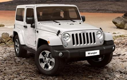 Jeep Wrangler 3.6 V6 Overland 2dr Auto