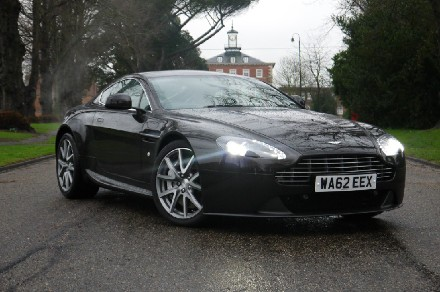 Aston Martin V8 4.7 2dr (420) Coupe Petrol Metallic Marron Black