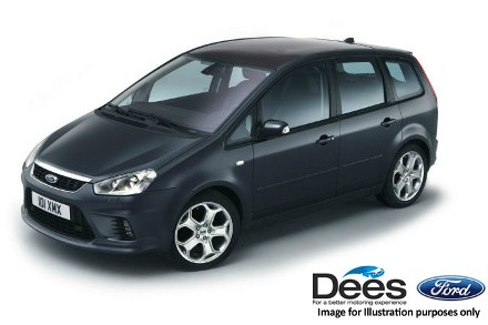 Ford Focus C-Max 1.6 TDCi Titanium 5dr Estate Diesel BLACK