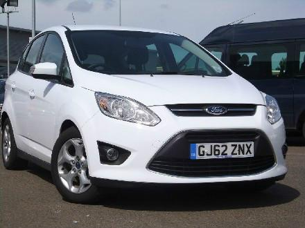 Ford Focus C-Max 1.6 TDCi Zetec 5dr Estate Diesel WHITE