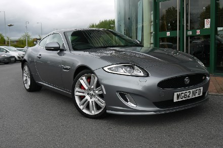 Jaguar XK 5.0 Supercharged V8 R 2dr Auto Coupe Petrol Metallic Stratus Grey
