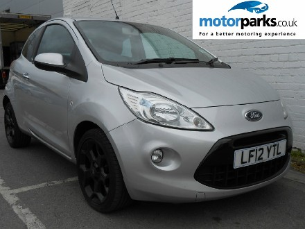 Ford Ka 1.2 Metal 3dr (Start Stop) Hatchback Petrol SILVER