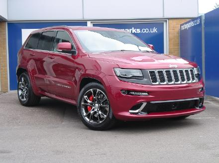 Jeep Grand Cherokee SRT8 - New and Exclusive to County Motor Works