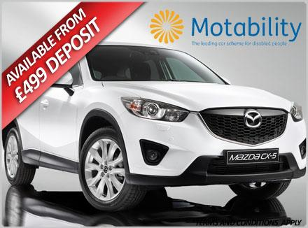 Mazda Cx 5 From 163 699 Advance Payment Motability Offer
