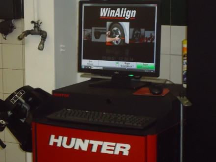 Special Offer on Full Wheel Laser Alignment