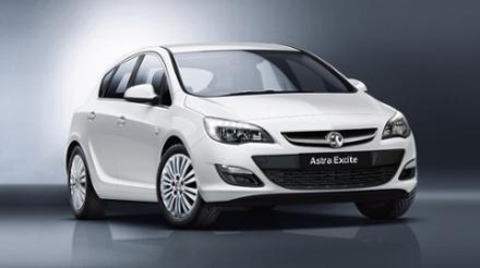 Vauxhall Astra 1.4i 16v VVT (100PS) Excite 5dr