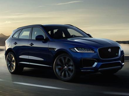 Jaguar f pace cena