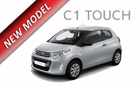 Citroen C1 Touch 1.2 VTi 68PS 3Dr