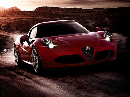 Alfa Romeo 4C 1.8 2dr