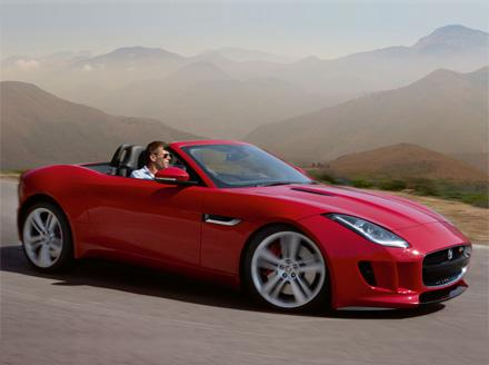 Jaguar F-TYPE V8S - Order now for early delivery.