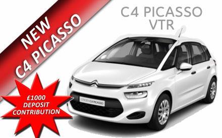 New C4 Picasso VTR 1.6 VTI 120PS