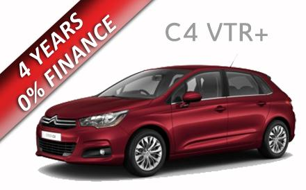 Citroen C4 VTR+ 1.6 VTi 120PS 5dr