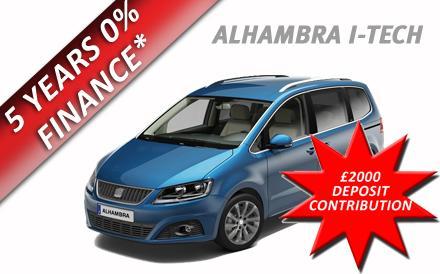 Alhambra I-TECH 2.0 TDI CR  DSG-Auto 140PS 5Dr