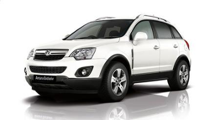 Vauxhall Antara 2.2CDTi 16v (163PS) 4X4 auto Exclusiv 5dr