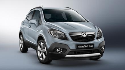 Vauxhall Mokka 1.7CDTi 16v (130PS) Start/Stop FWD Tech Line 5dr