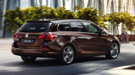 Vauxhall Astra Sports Tourer 1.4i 16v VVT (100PS) Tech Line 5dr