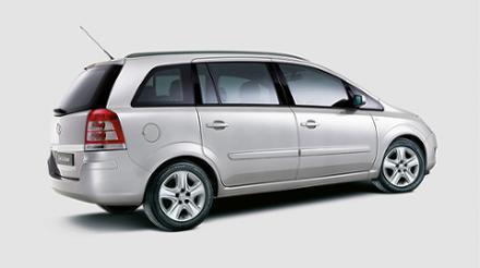 Vauxhall Zafira 1.8i 16v VVT (140PS) Exclusiv 5dr