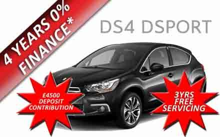 Citroen DS4 2.0 hdi dsport 5dr