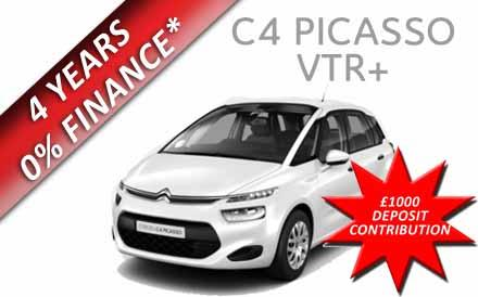 New C4 Picasso VTR+ 1.6 VTI 120PS