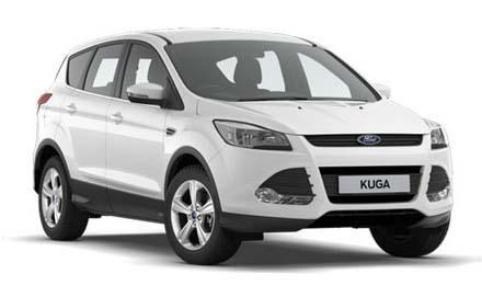 New Ford Kuga Zetec 2.0TDCi 150ps FWD