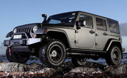 Jeep Wrangler 2.8 CRD Overland 4dr Auto
