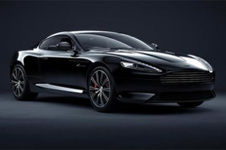 Aston Martin DB9 Carbon Edition Black Coupe