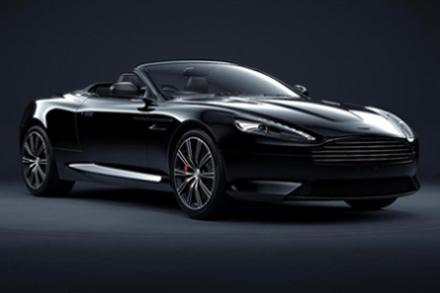 Aston Martin DB9 Carbon Edition Black Volante
