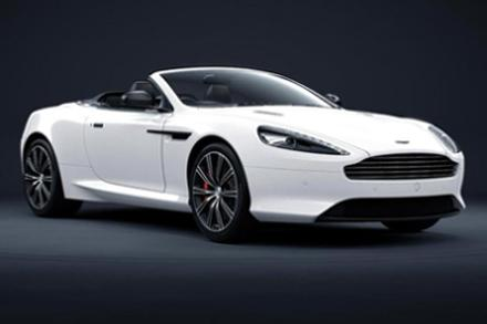 Aston Martin DB9 Carbon Edition White Volante